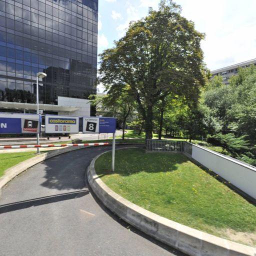 Centre commercial P3 - Parking public - Puteaux