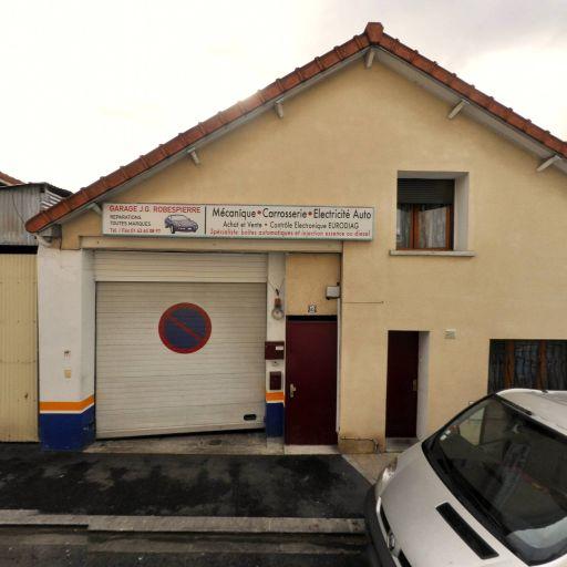 Garage J.G Robespierre - Garage automobile - Bagnolet
