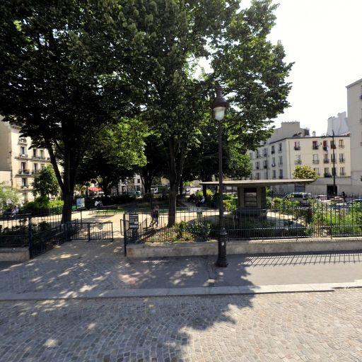 Square Saint-bernard - Said Bouziri - Parc, jardin à visiter - Paris