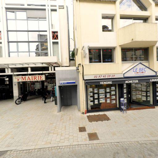 LE BEC Immobilier Vannes - Agence immobilière - Vannes