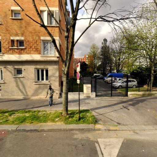 Square Séverine - Parc et zone de jeu - Paris