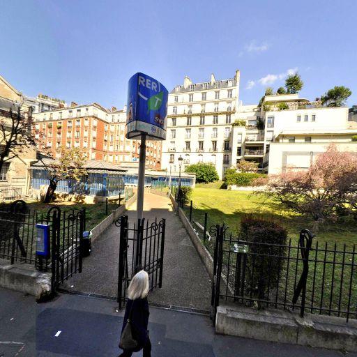 Station Vélib' Vignes - Boulainvilliers - Vélos en libre-service - Paris