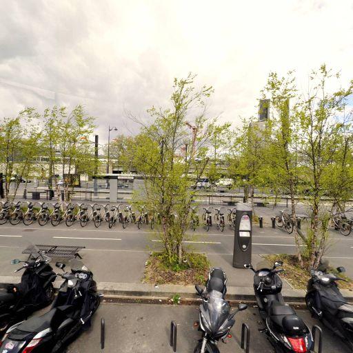 Station Vélib' Parc Suzanne Lenglen - Vélos en libre-service - Paris