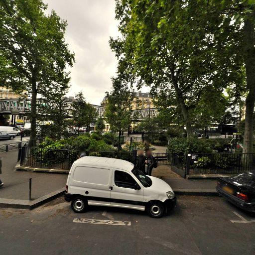 Square de Jessaint - Parc, jardin à visiter - Paris