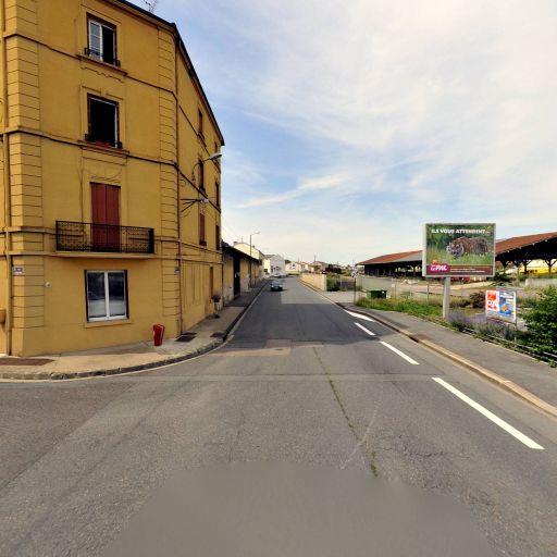 Aire de covoiturage parking SNCF - Aire de covoiturage - Roanne