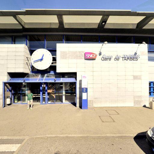 Aire de covoiturage Gare SNCF de Tarbes - Aire de covoiturage - Tarbes