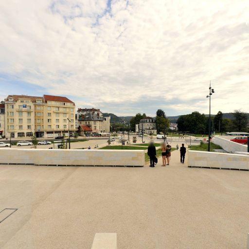Parking nord gare de Besancon Viotte longue durée nord - EFFIA - Parking public - Besançon