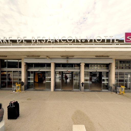 Gare de Besançon Viotte - Transport ferroviaire - Besançon