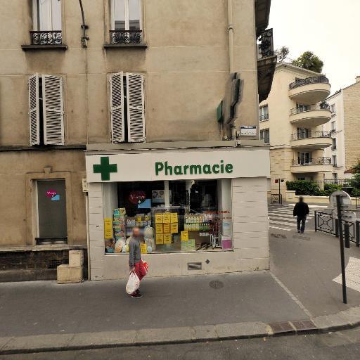 Charrier Madeleine - Pharmacie - Vincennes