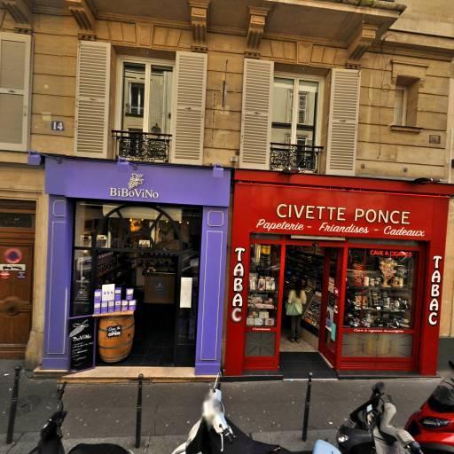 La Civette Ponce - Bureau de tabac - Paris