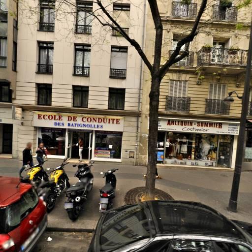 Permis Accélérés - Ecole de conduite des batignolles - Auto-école - Paris