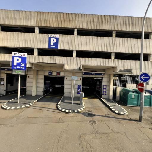Parking PSR - Parc de la Gare - Parking - Melun