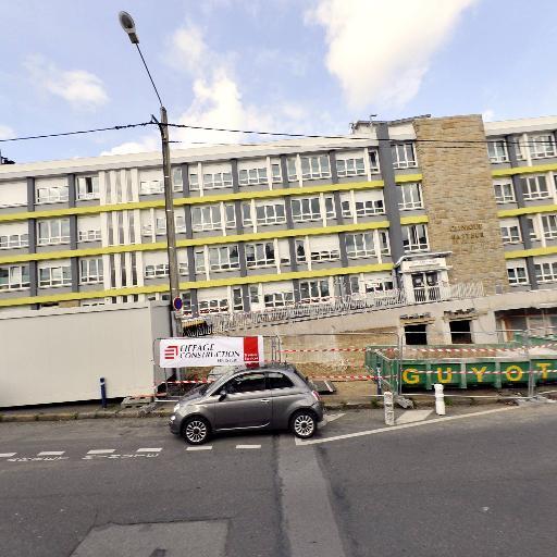 Clinique Pasteur - Lanroze - Hôpital - Brest