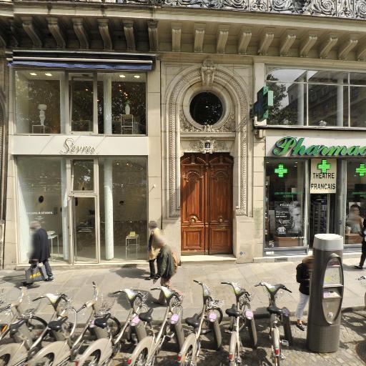 Station Vélib' Place André Malraux - Vélos en libre-service - Paris