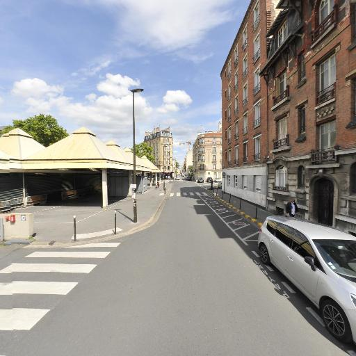 Marché - Parking public - Boulogne-Billancourt