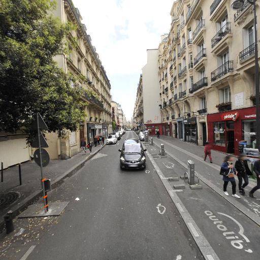 Station Vélib' Victor Massé - Jean-Baptiste Pigalle - Vélos en libre-service - Paris