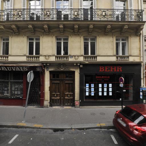 Behr Pascal - Philatélie - Paris