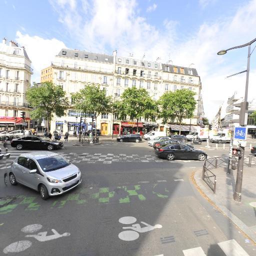 Station Vélib' Magenta - Chabrol - Vélos en libre-service - Paris