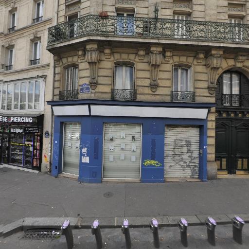Station Vélib' Aqueduc - Villette - Vélos en libre-service - Paris