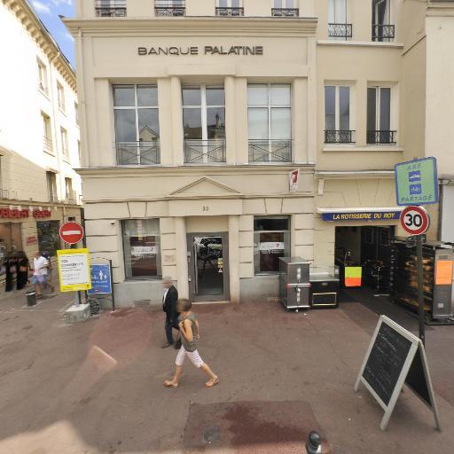 Banque Palatine - Banque - Saint-Germain-en-Laye