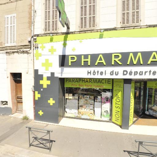 Pharmacie Hôtel Du Département - Pharmacie - Marseille