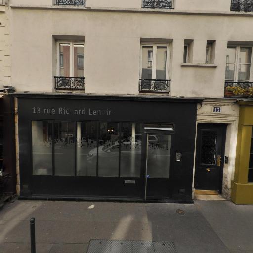 Map Atelier D'Architecture - Marchand de biens - Paris