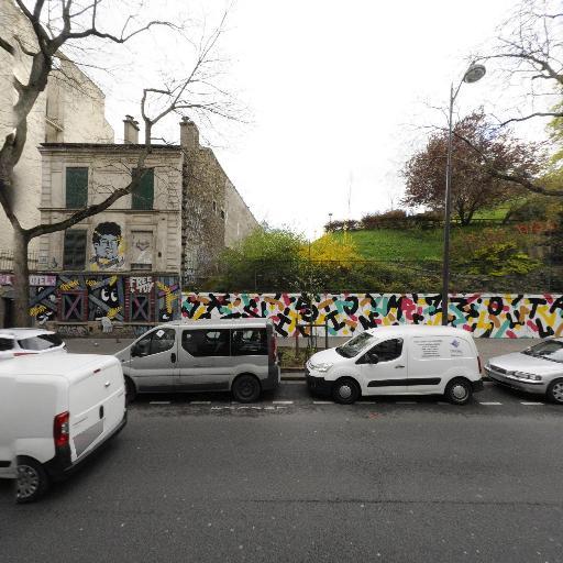 Square Henri Karcher - Parc et zone de jeu - Paris