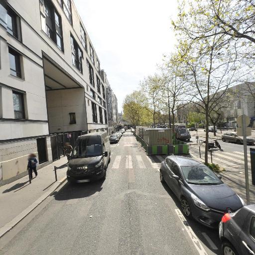 Station Vélib' Charonne - Robert et Sonia Delauney - Vélos en libre-service - Paris