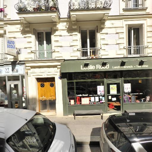 Leslie Road - Salon de thé - Paris
