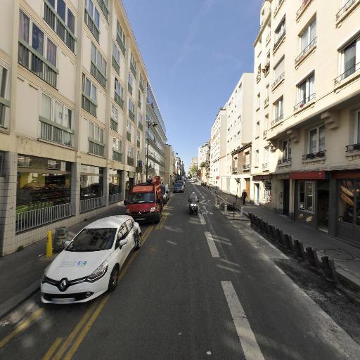 Station Vélib' Haxo - Surmelin - Vélos en libre-service - Paris