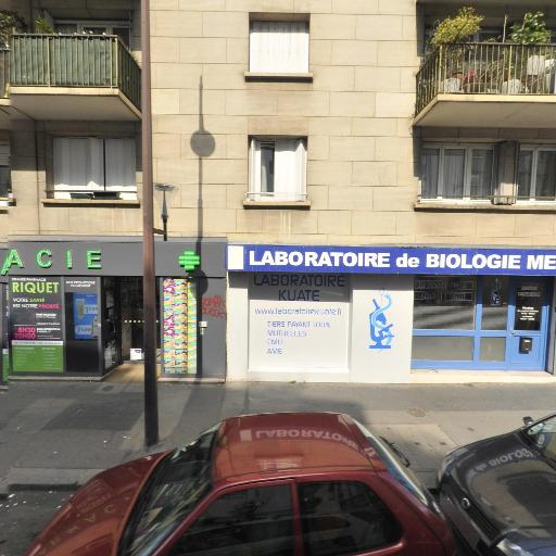 Dépistage COVID - LBM KUATE SITE RIQUET - Santé publique et médecine sociale - Paris