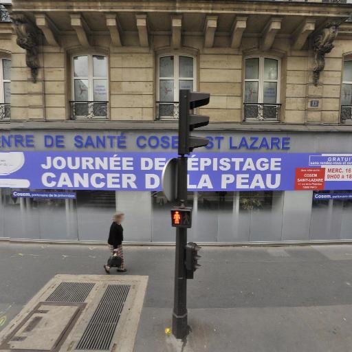 Centre Médical St-Lazare - Centre médico-social - Paris