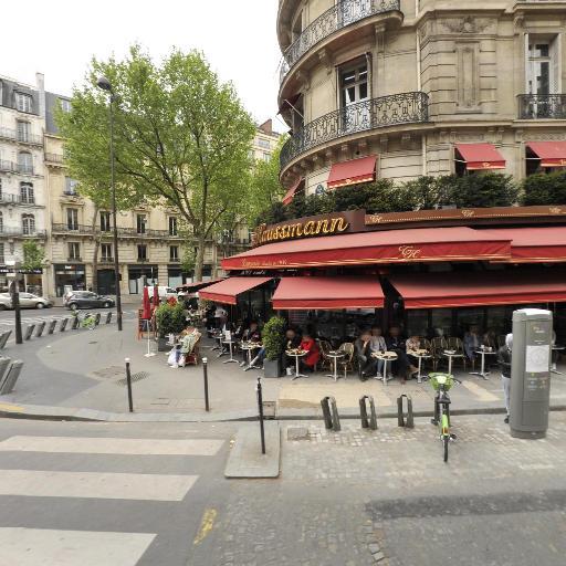 Station Vélib' Rome - Provence - Vélos en libre-service - Paris