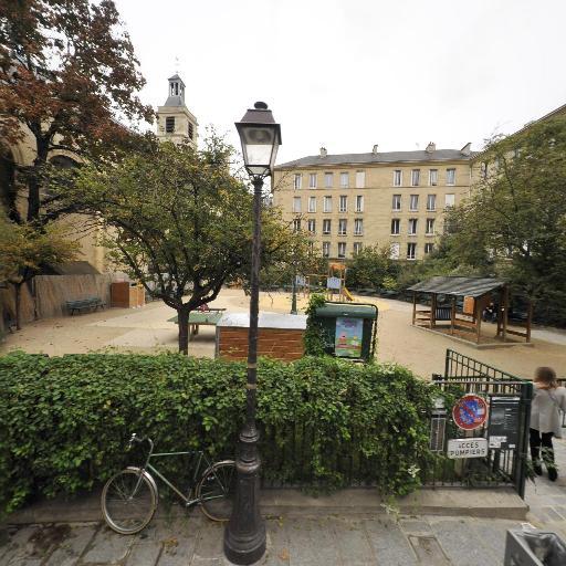Square Charles-Victor Langlois - Parc et zone de jeu - Paris