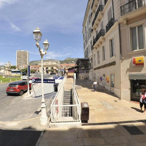 Aire de covoiturage Gare - Aire de covoiturage - Toulon